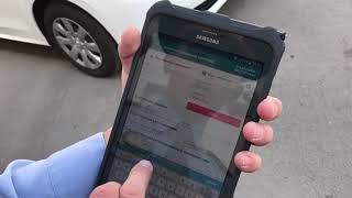 Как полиция Казахстана будет оформлять штрафы через планшеты