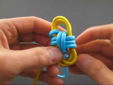 how to tie a two color monkey s fist by tiat