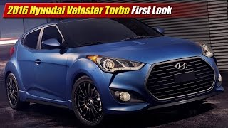2016 hyundai veloster turbo first look