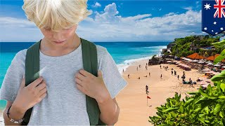 Boy steals family plastic, goes on Bali vacay after fight - TomoNews