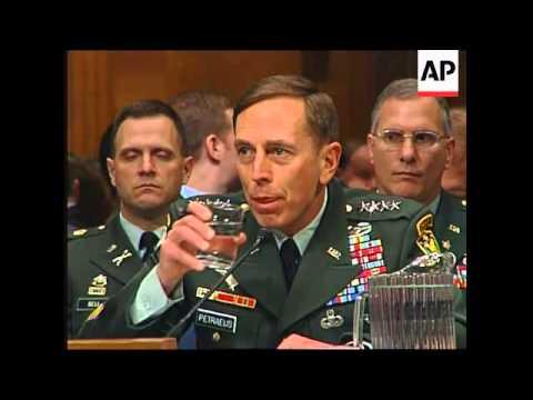WRAP  Petraeus and Crocker testify before Senate on Iraq
