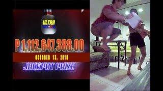 1 BILYON PCSO ULTRA LOTTO WINNER HULI SA KAMERA ANG REAKSYON!!!!