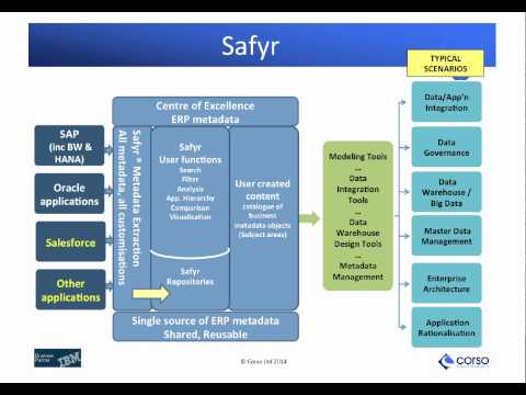 Incorporating ERP Data into your Enterprise Architecture Landscape   Corso