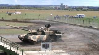 Engineering Technologies 2012 - T-90MS Demonstration