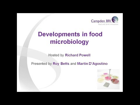 Developments in food microbiology
