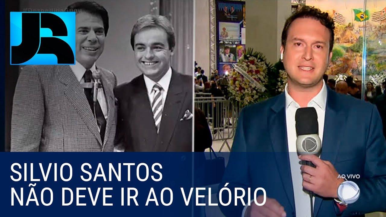 São mínimas as chances de Silvio Santos comparecer ao velório de Gugu
