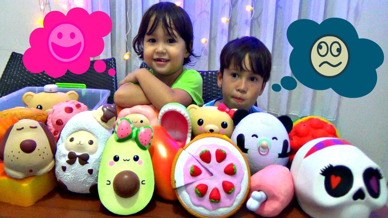 Squishy Collection Naura : JUMBO SQUISHY Collection! - YouTube