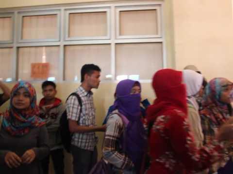 Demo UNIKAL International Student's Day 2014
