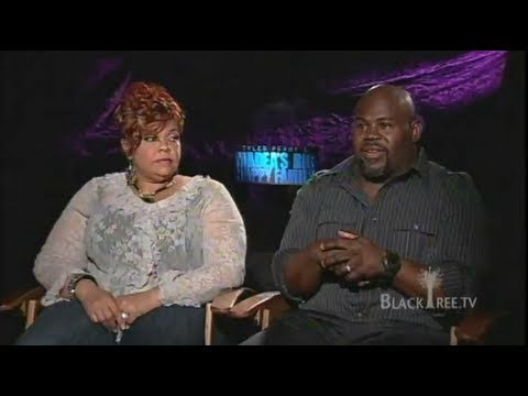 David and Tamela Mann Interview for Madea's Big Happy Family