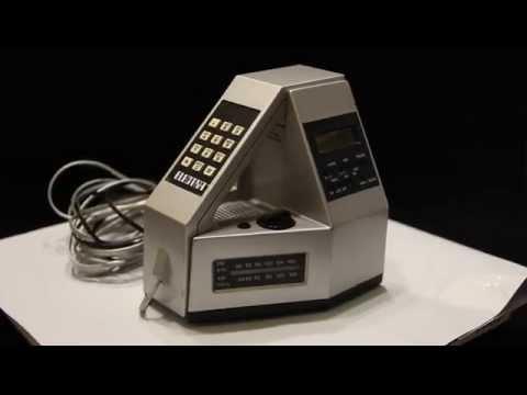 ELECTRA CLOCK/RADIO/TELEPHONE MODEL 4001