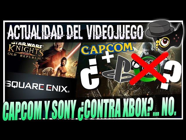 """SONY Y EL CONTRATO CON CAPCOM """"""""¿ANTI XBOX?"""""""", EL REMAKE DE KOTOR, FIDELITYFX EN XBOX SERIES Y MAS.."""