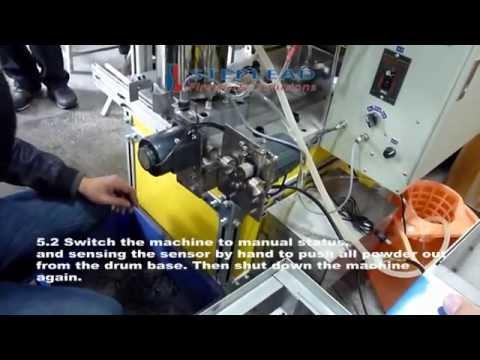 Video installation instruction of sparkler making machine