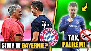 Jose Mourinho TRENEREM Bayern Monachium? Szczery wywiad Eden Hazard!