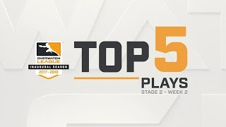 Overwatch League Top 5 Plays – Stage 2 – Week 2