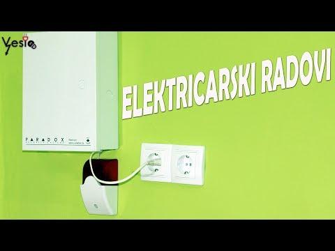 Elektricarski radovi u predsoblju