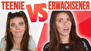 TEENIE vs ERWACHSENER   Alltagssituationen   Sara Casy