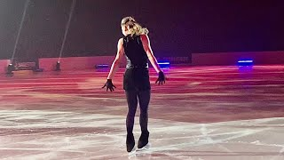 Alena Kostornaia Алена Косторная Never tear us apart 14 04 2021 Чемпионы на льду Санкт Петербург