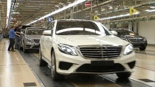 Mercedes S63 AMG (2014) PRODUCTION