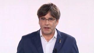Puigdemont, elegido presidente del nuevo JxCat con el 99,3% de los votos