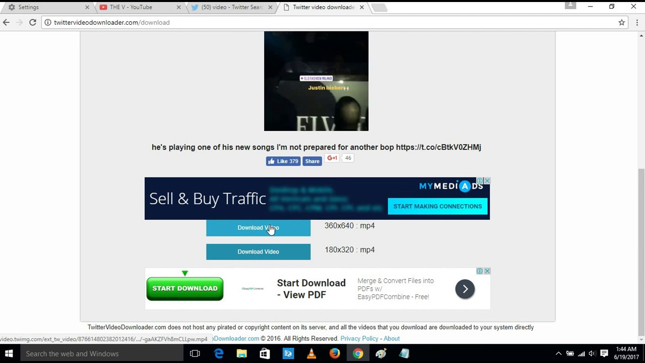 How to download twitter videos without any software to your pc how to download twitter videos without any software to your pc 2017 ccuart Images