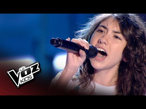 "Lucía: ""Dangerous woman"" – Último Asalto 1 – La Voz Kids 2018"