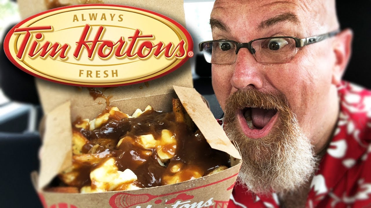 Tim Hortons NEW Poutine • Food Review