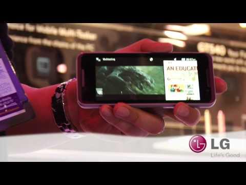 LG CES 2010: GW990 Intel Atom (Moorestown) Smartphone MID