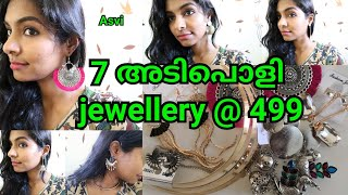 Jewel Grabbox & mini grabbox unboxing|Affordable jwellery subscription box unboxing|Asvi Malayalam