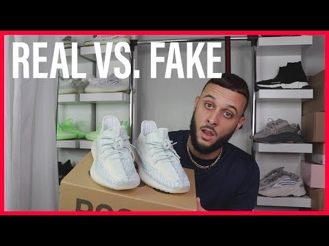 HOW TO SPOT FAKE YEEZY 350 CLOUD WHITE REAL VS FAKE