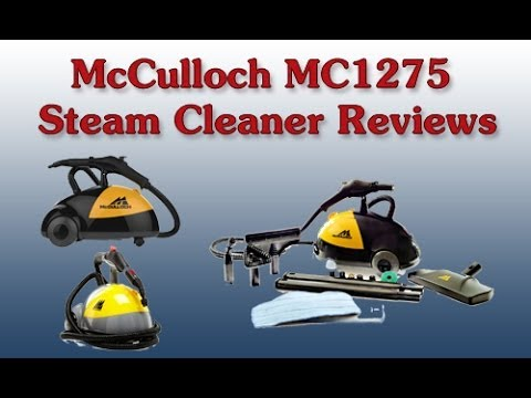Harbor Freight McCulloch MC1275 Steam Cleaner Reviews