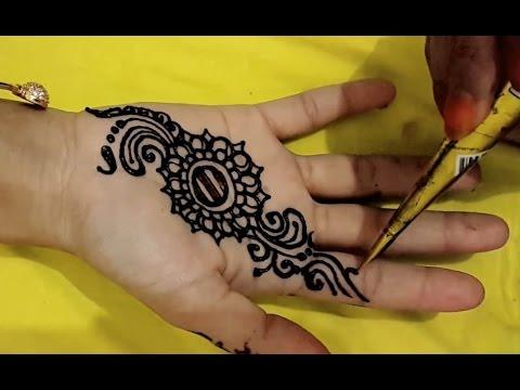 Tattoo Mehndi Tangan : ᴴᴰ simple mehndi henna tangan designs youtube