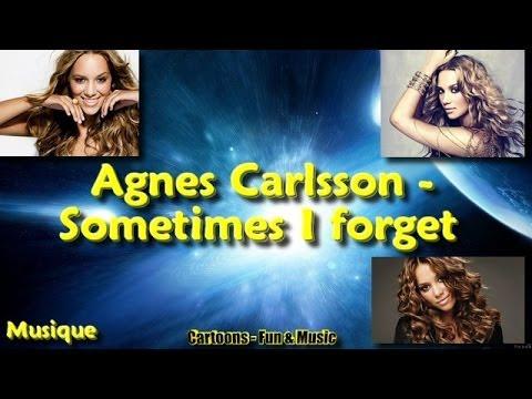 Agnes Carlsson - Sometimes I forget (+ lyrics)