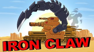 """Iron Claw"" Cartoons about tanks"