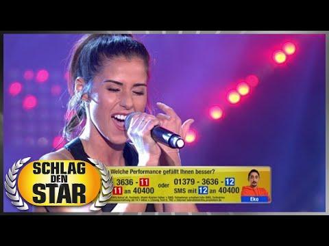 Song-Battle | Sarah Lombardi vs. Eko Fresh | Spiel 3 | Schlag den Star
