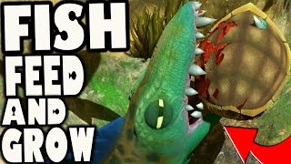 Fish Feed and Grow - TITAN BARRACUDA & BIGGEST TURTLE EVER (Gameplay)