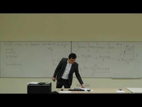 Computational Physics Lecture 20, Numerical Integration I