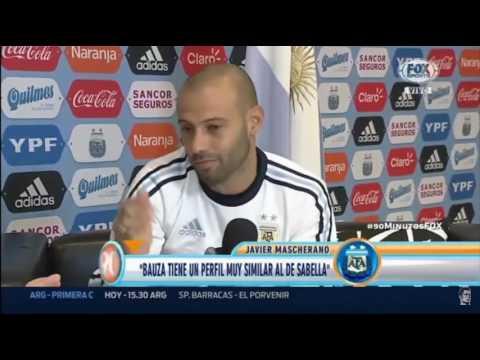 Sabella segun Mascherano.