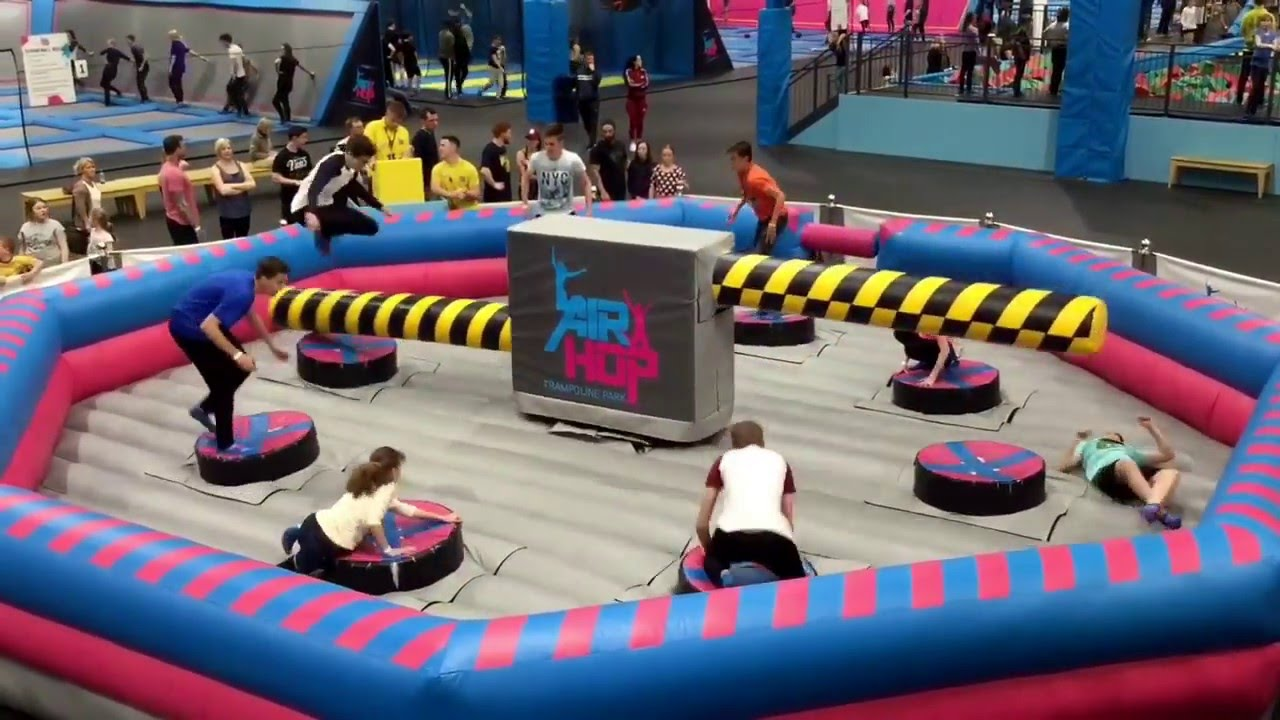 air hop trampoline park bristol april 2016 youtube. Black Bedroom Furniture Sets. Home Design Ideas