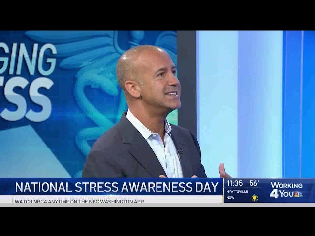 NBC4 - Stressed out? Tips to help manage it