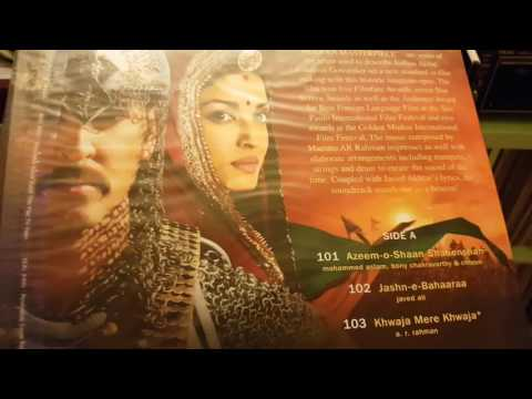 Indian music soundtrack on vinyl Jodhaa Akbar