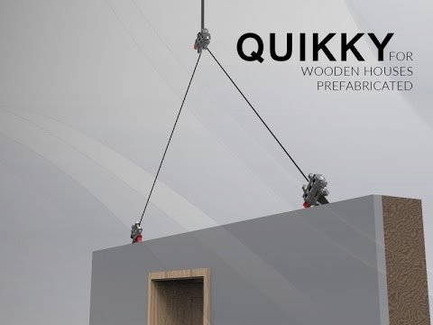 QUIKKY FOR WOODEN HOUSES PREFABRICATED