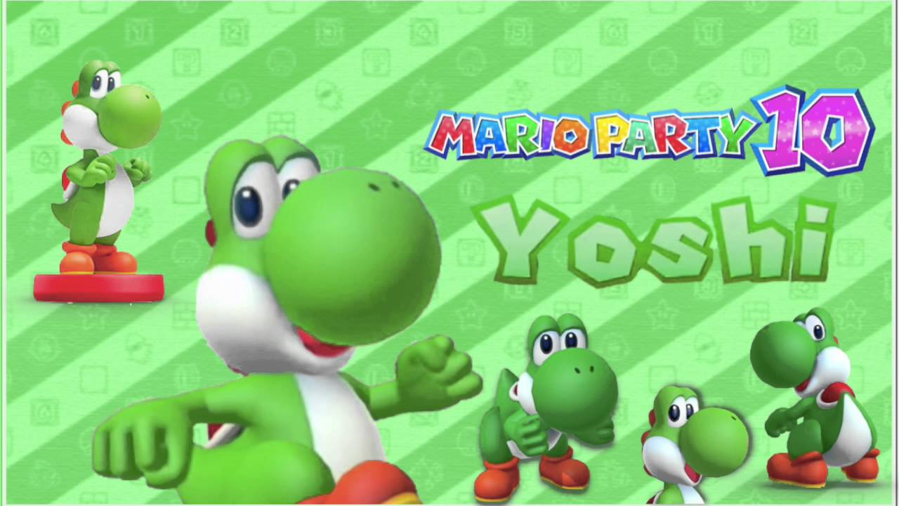 Mario Party 10 Yoshi Voice Rafa Nintendo Youtube
