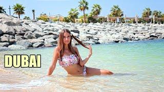 VLOG Отдых в ДУБАЕ Танцуем НОЧЬЮ в море Пляжи ЕДА DUBAI Неделя влогов