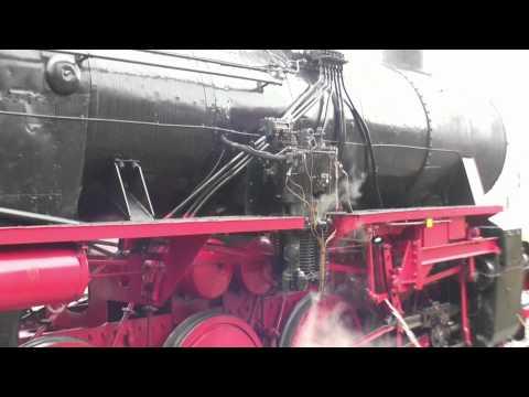 "Dampflok 52 7596 ""Feuriger Elias"" Nikolausfahrt 3.12.2011 / steam train / locomotive à vapeur"