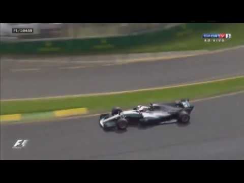 F1 2017 Mercedes with V10 engine sound! Sounds awesome!
