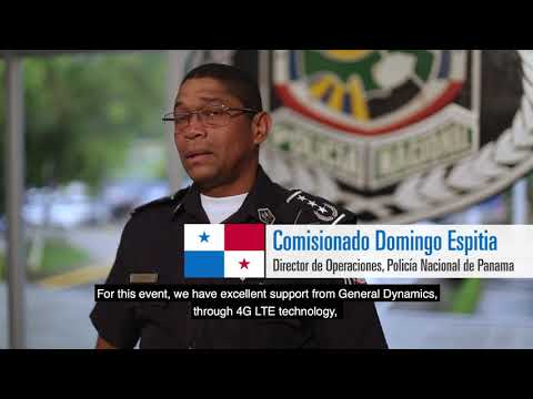 General Dynamics Connects Public Safety at Panama Canal Expansion Event