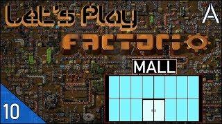 Factorio mall blueprints
