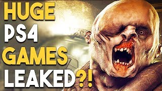HUGE PS4 Games LEAKED?! Days Gone is HOW LONG?!