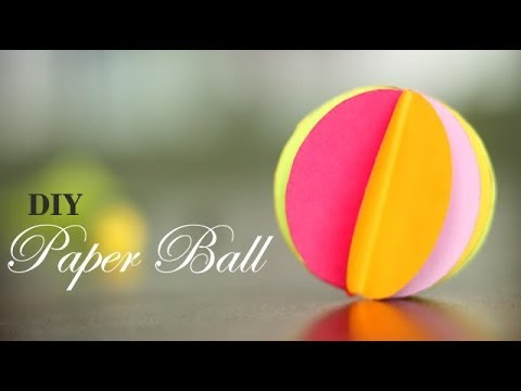 DIY : How to make Paper Ball