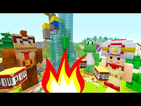 Minecraft Wii U - Mario Bros World - TNT Everywhere! [5]